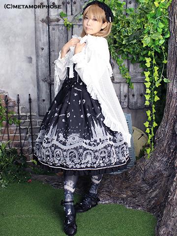 No.480 Cinderella~小さなガラスの靴~ミディアムジャンパースカートコーデ