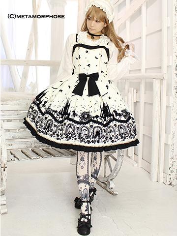 No.481 Cinderella~小さなガラスの靴~ミニジャンパースカート コーデ