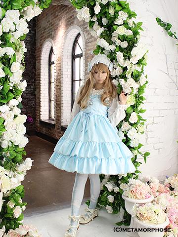 No.483 Cinderella~小さなガラスの靴~ハイウエストジャンパースカート コーデ