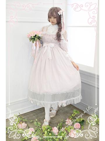 No.599 Lady チュールドレス (ドットチュール) コーデ