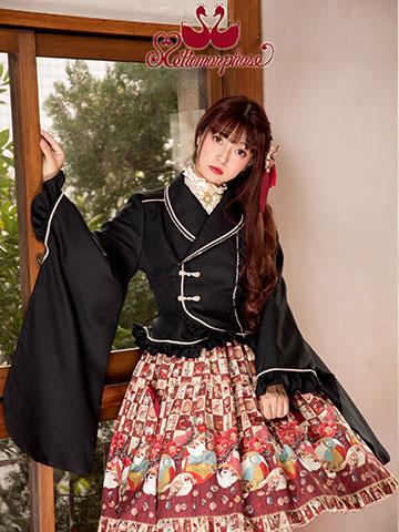 No.644 キモノ袖ジャケットコーデ