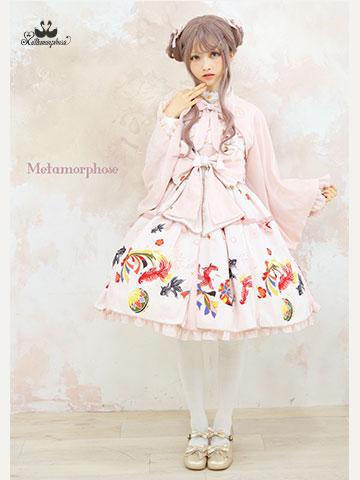 No.693 乙女の白昼夢タックジャンパースカート