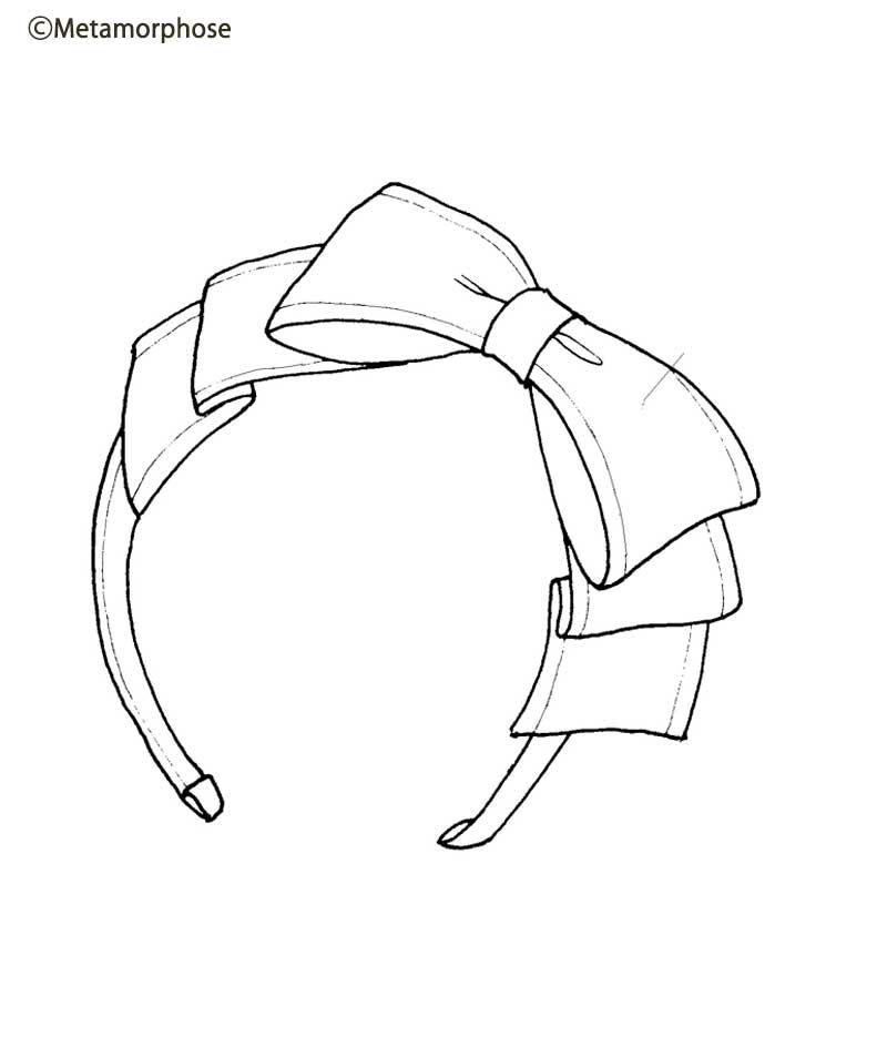 Logo Ribbon Headband