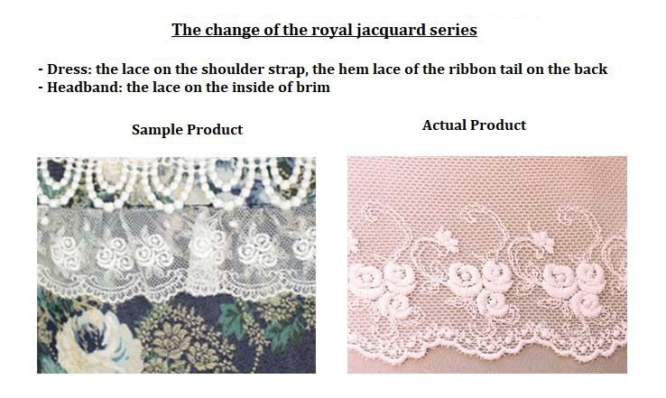 the change of lace