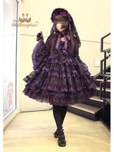 No.718 追憶の姫君 ドレス (紫)